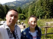 Ghenadie ANTONOVICI cu fiica Sanda