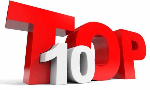 The Canonical Top Ten List of 2018