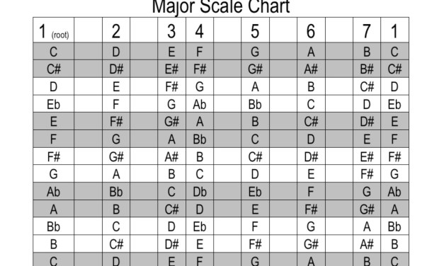 Music Theory Primer for Beginning Guitarists: Major & Minor Chords
