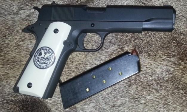 Five Guns You Should Shoot IV – Pistols