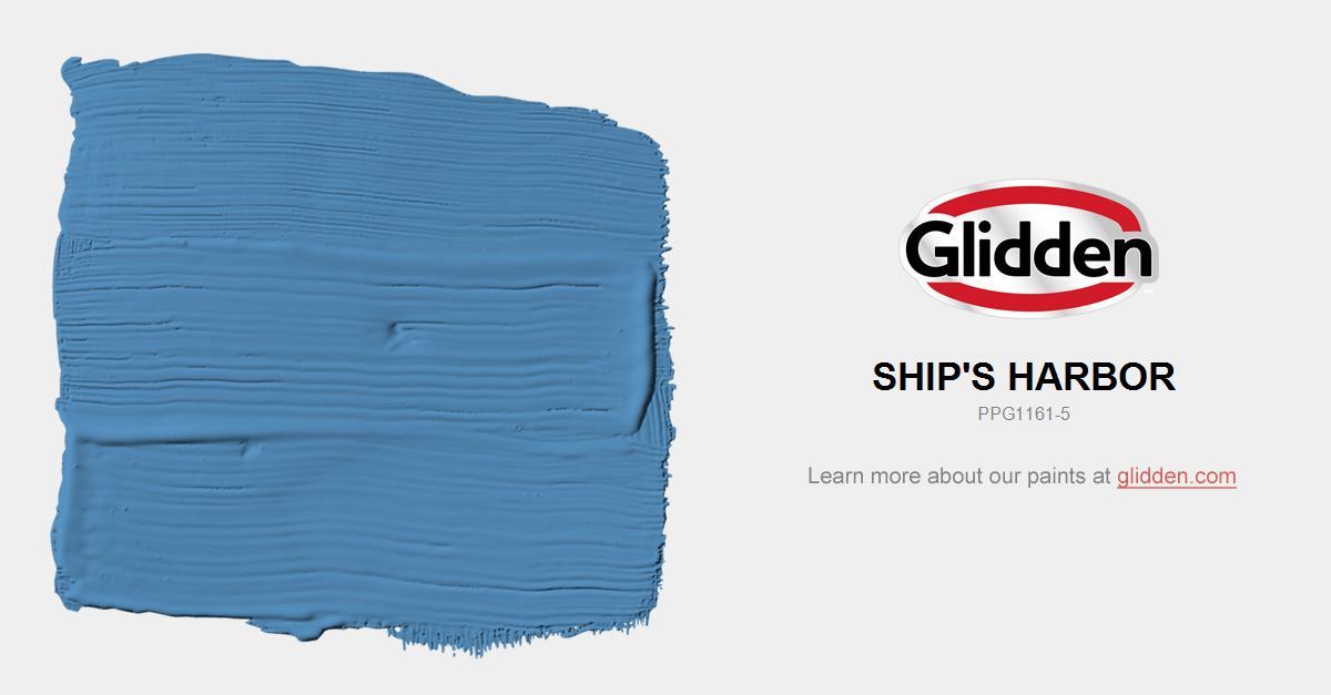 Ship S Harbor Paint Color Glidden Paint Colors
