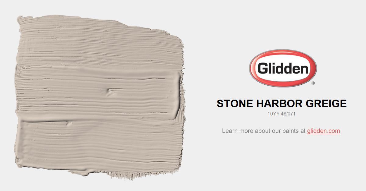 Stone Harbor Greige Paint Color