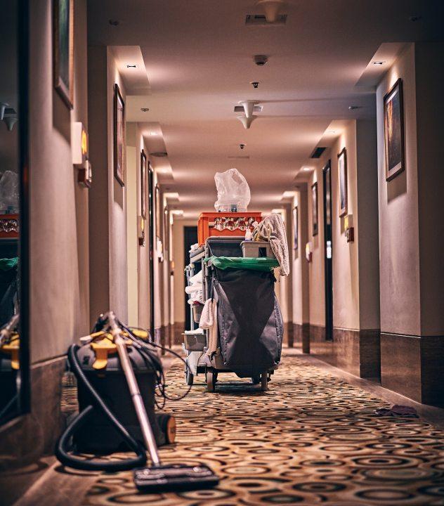 hygiene of a hotel
