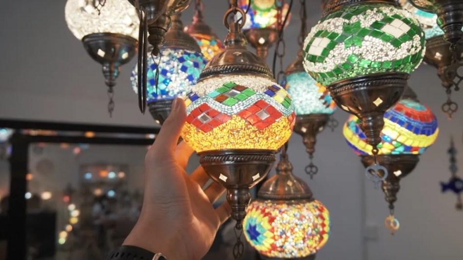 土耳其馬賽克燈工作坊