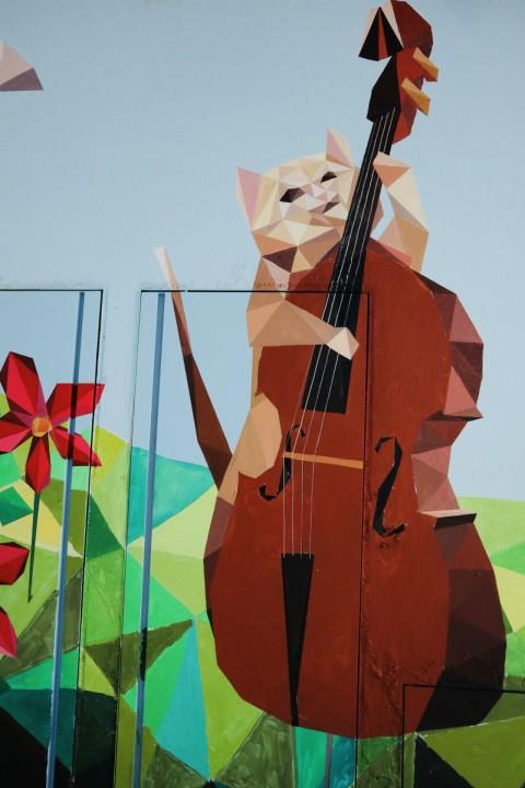 【香港好去處】17個香港壁畫打卡點─香港壁畫村、壁畫街、街頭藝術──香港街頭藝術──西營盤藝里坊