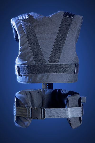 Glidecam X-10 Support Vest (Back View)