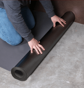 100 sq ft per roll