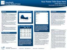 peace health research poster templates makesigns com scientific