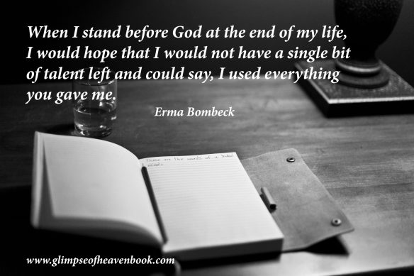 Erma Bombeck talent revised