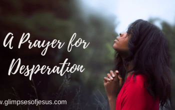 A Prayer for Desperation