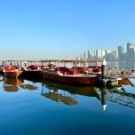 boats at Buhaira, Sharjah