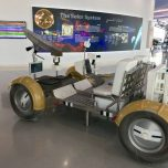 Lunar vehicle at Sharjah Centre for Astronomy and Space Sciences