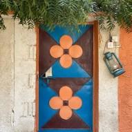 Colourful door in Al Nahwa