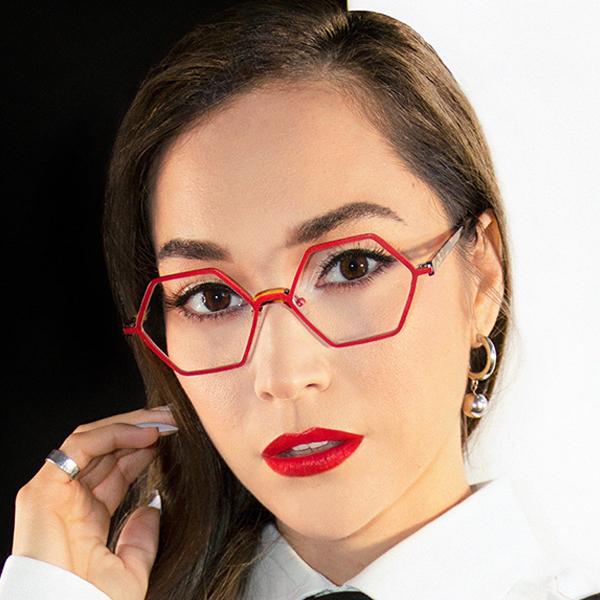 LA Eyeworks Unique Eyewear Button
