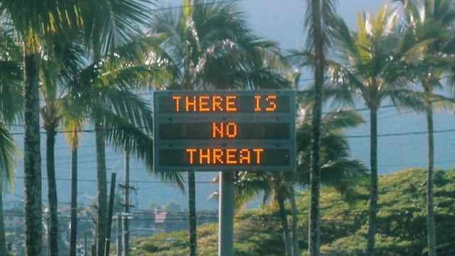 Hawaii's false missile alert sent by worker who thought attack on U.S. was imminent, FCC says via Reynman