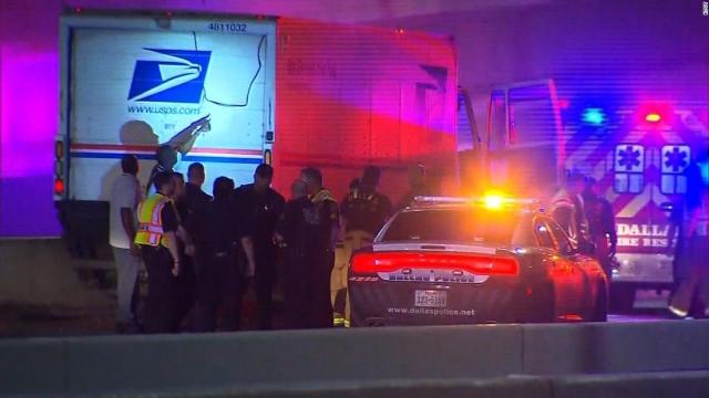 Postal employee found dead on Dallas interstate via Trumpcarekills