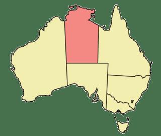 Local Government Areas in Northern Territory Australia Glitchdata