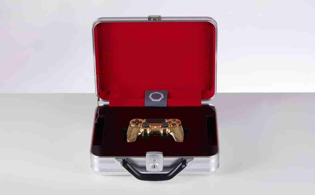Golden DualShock Case