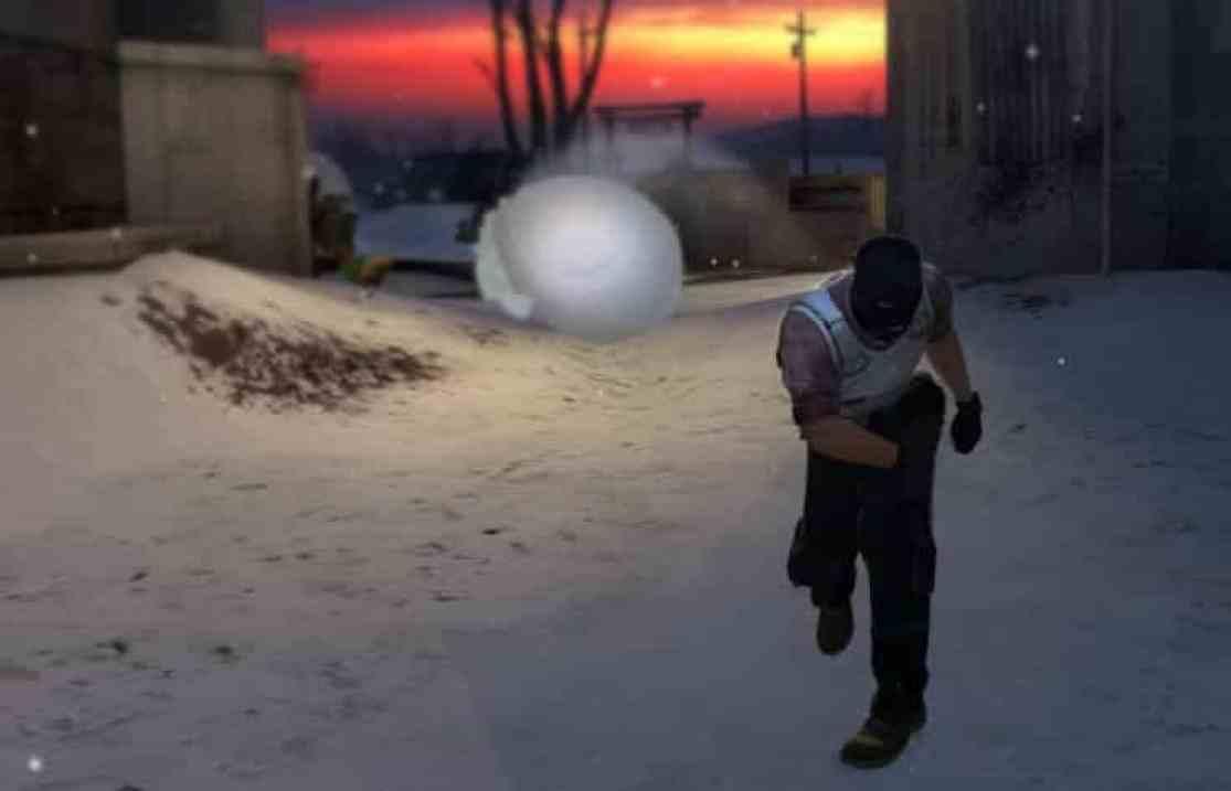 CS: GO Snowball