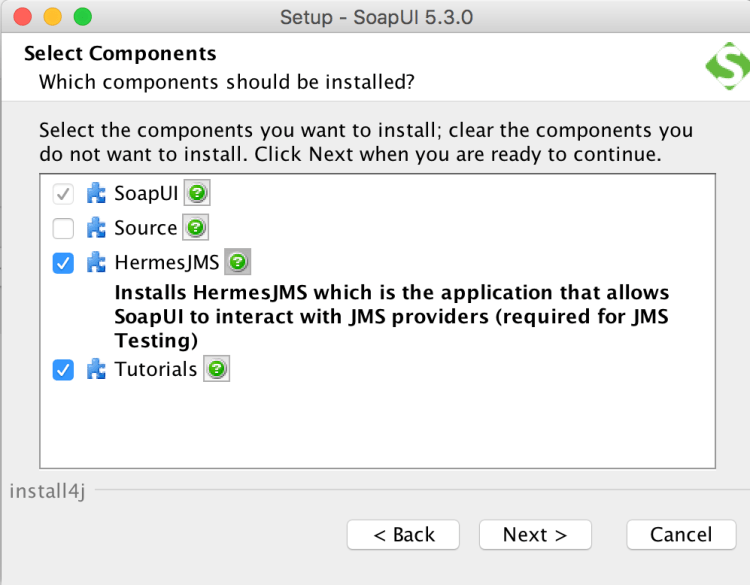 SoapUI Install 4