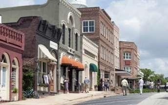 Walking Dead - Woodbury Shops