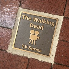 Walking Dead Filming - Sign