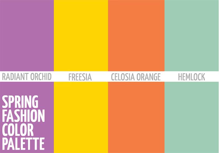 Fashion Color Palette 2014