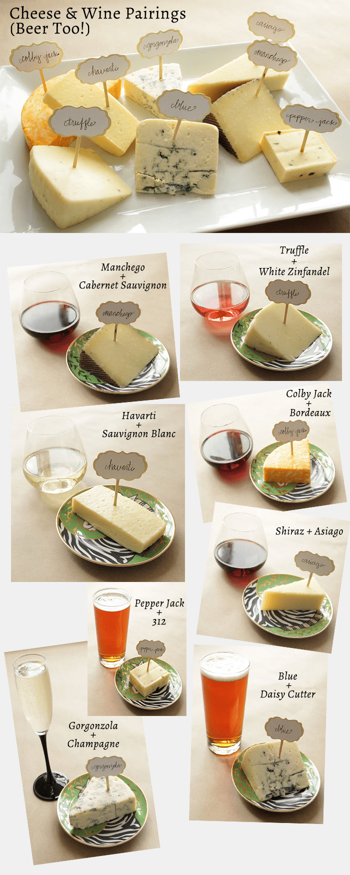 Cheese-Plate & Spring Wine \u0026 Cheese Pairings - Glitter \u0026 Bubbles