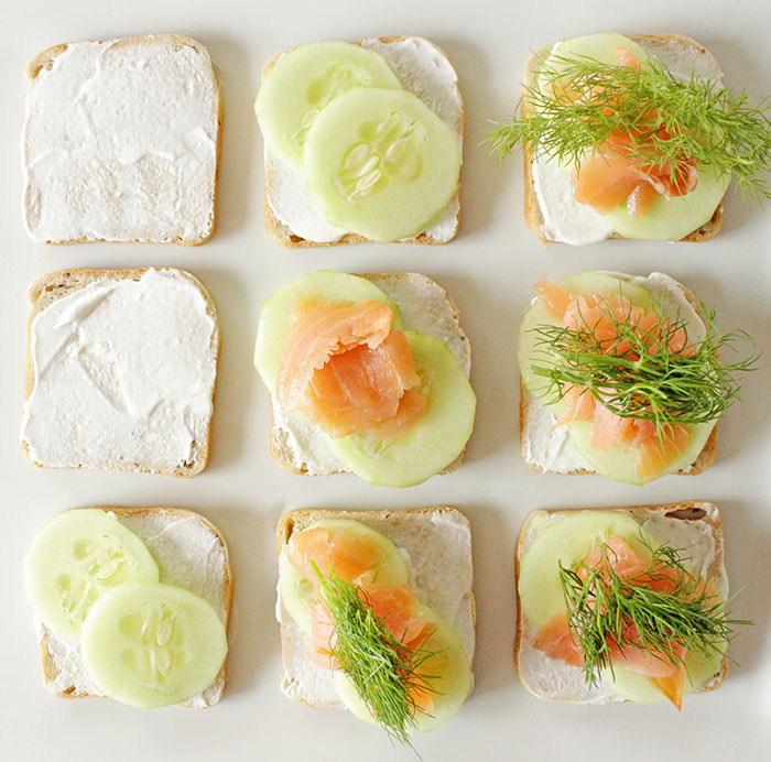 salmon-minis