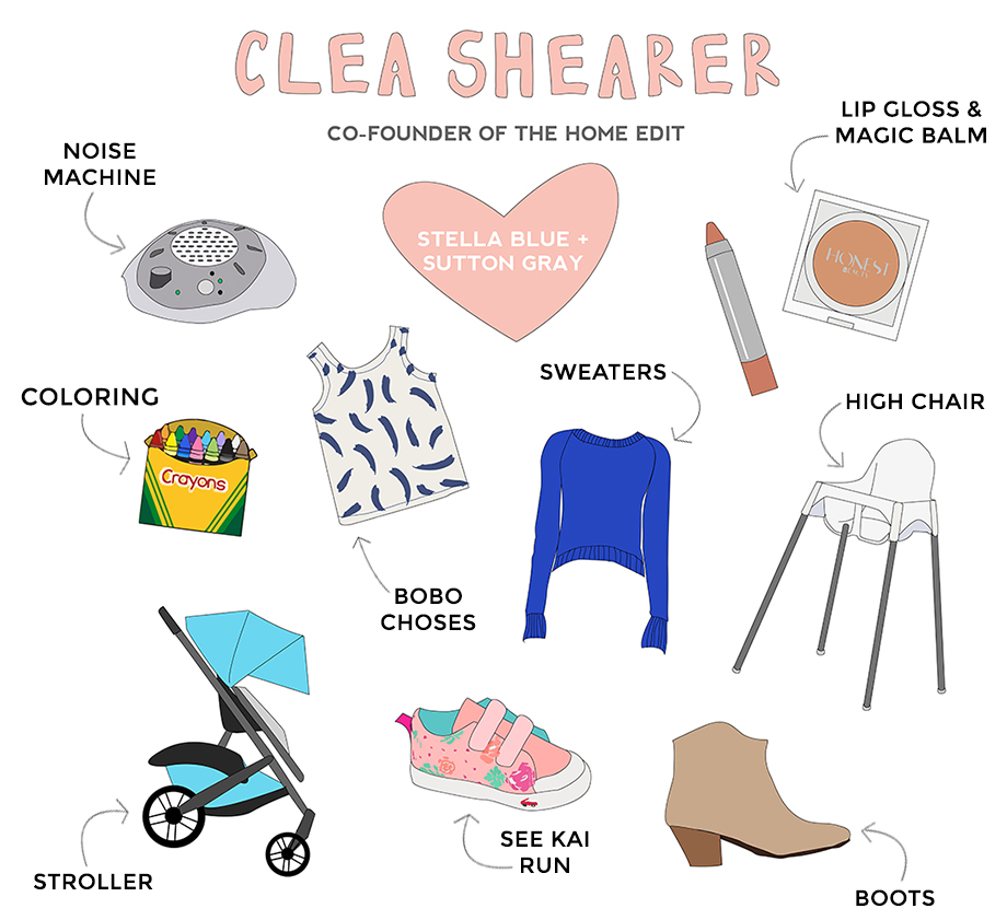 Clea Shearer is Co-Founder of The Home Edit and is featured as this week's RAD Mom on Glitter and Bubbles.