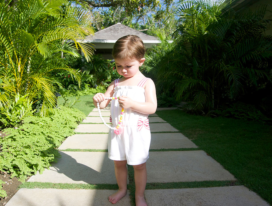 Toddler Vacation Fashion at Hillside House Jamaica by Glitter and Bubbles