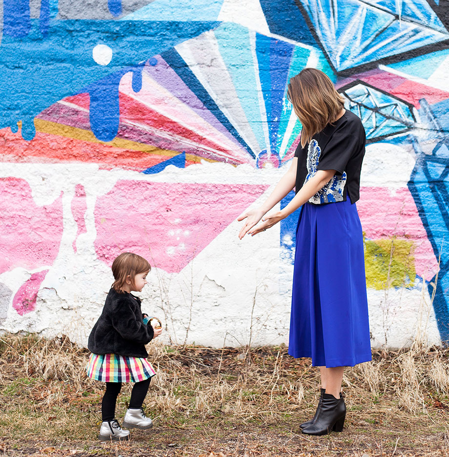 Mother-Daughter fashion by Glitter and Bubbles.