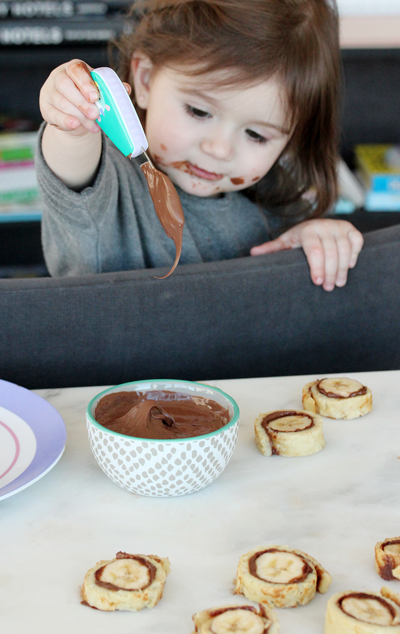 This is a recipe for Crepe Bites by Rosie Pope for Glitter and Bubbles.