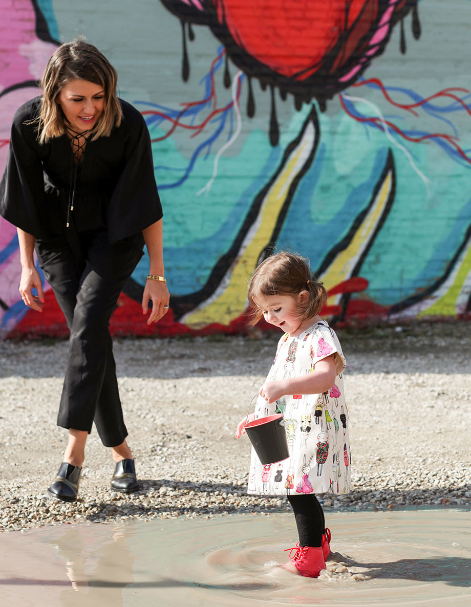 A mother and daughter fashion post by Glitter and Bubbles.