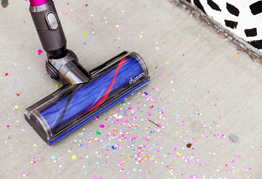 This is a mini and me post by Glitter and Bubbles that features a Dyson V6 Motorhead vacuum.