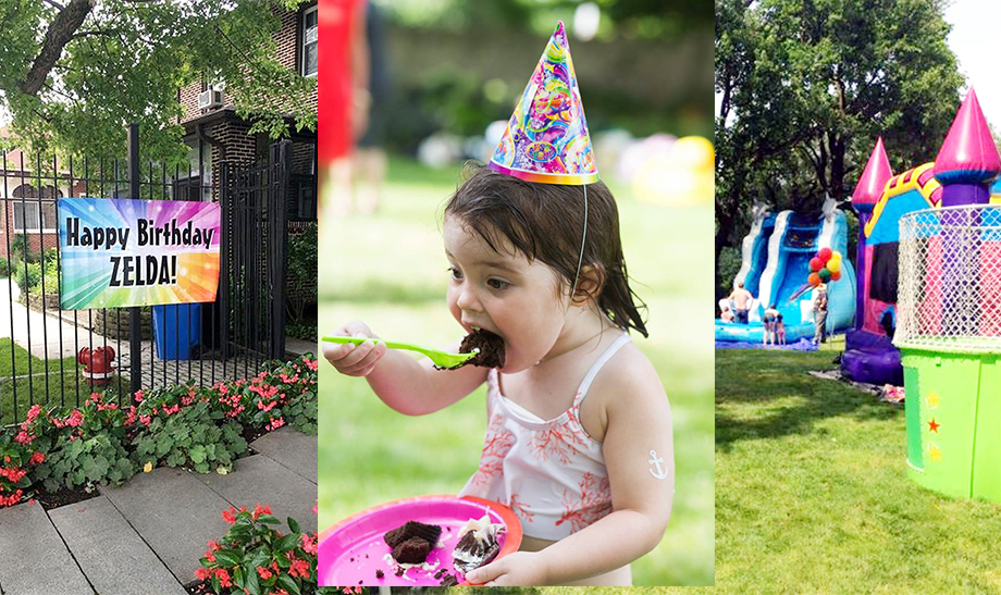 This post features Zelda's Lisa Frank birthday party on Glitter and Bubbles.