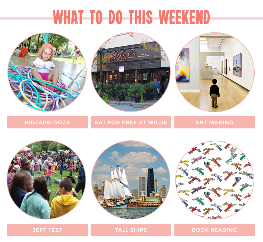 This is a post by Glitter and Bubbles featuring kids activities in Chicago and New York City.