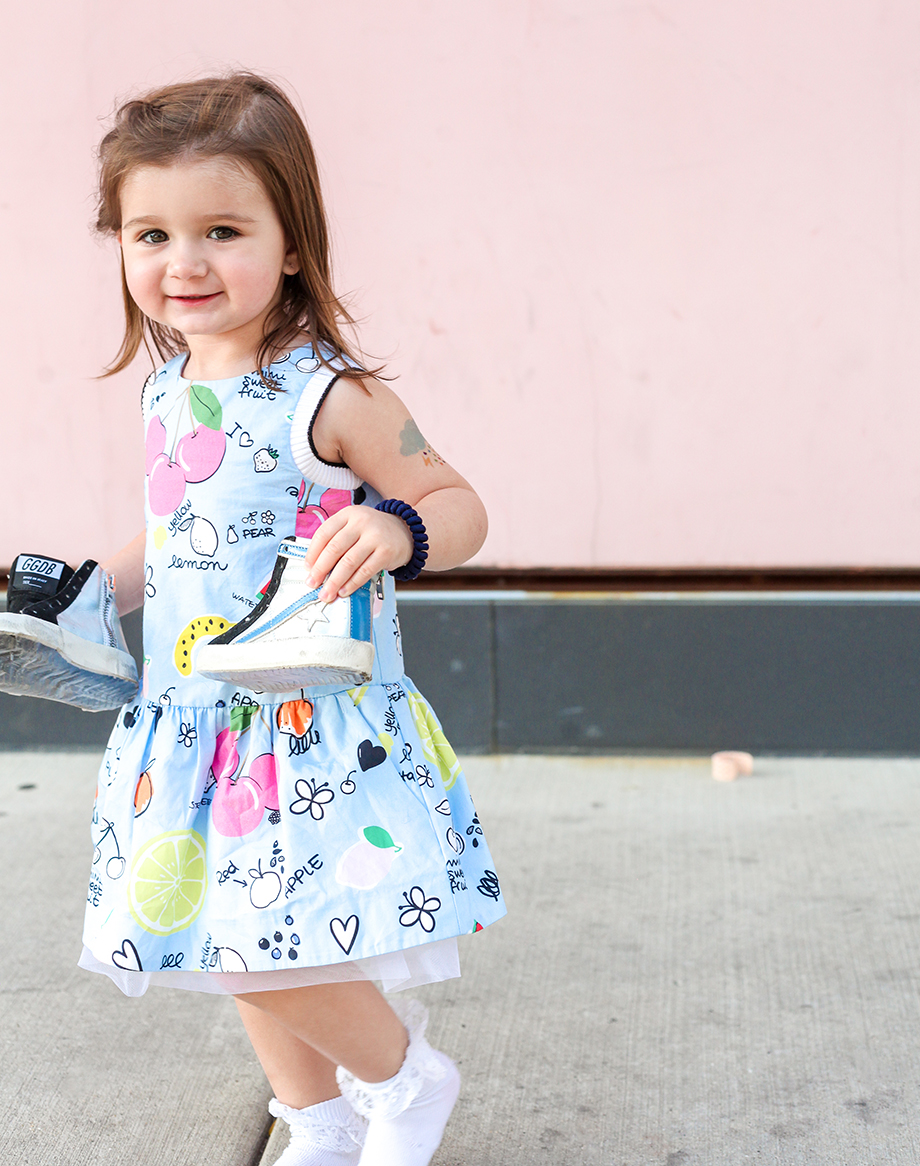 This is a mini and me post by Glitter and Bubbles featuring Farfetch.