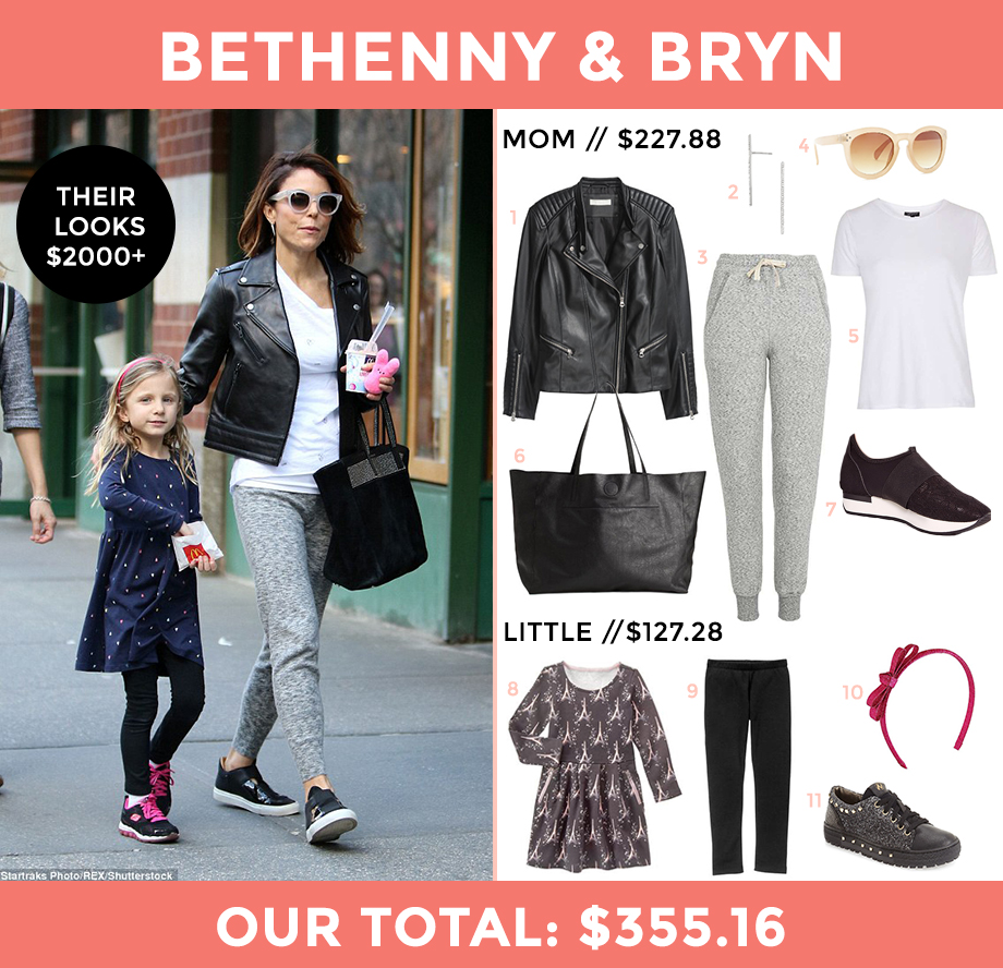 This is a look for less post by Glitter and Bubbles featuring Bethenny Frankel.
