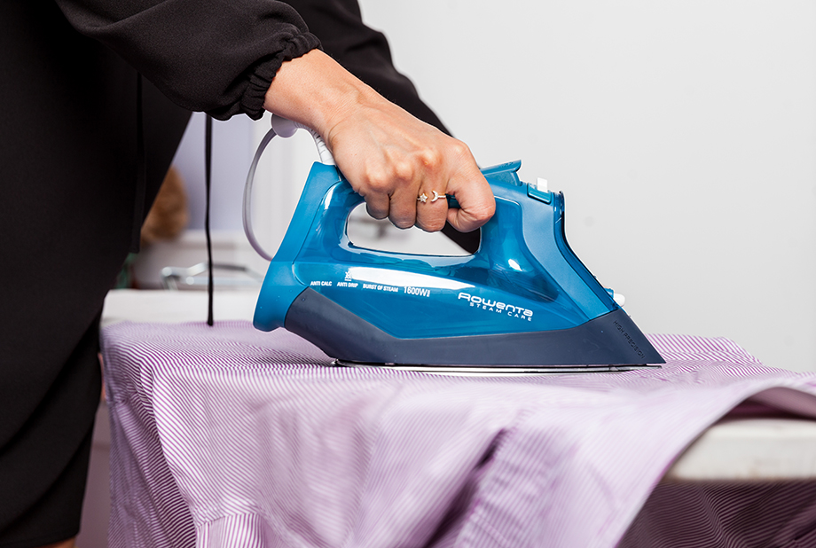 How to Iron in the Shortest Amount of Time Possible with Rowenta by Glitter and Bubbles