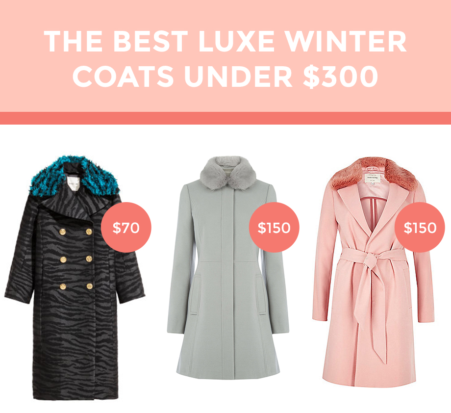 Three winter coats under $150.