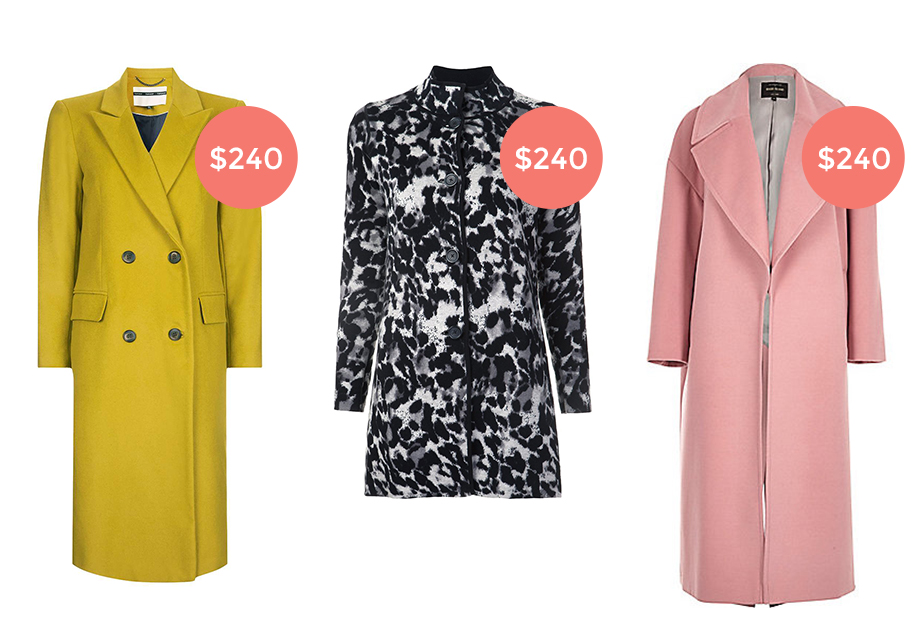 Three winter coats under $250.