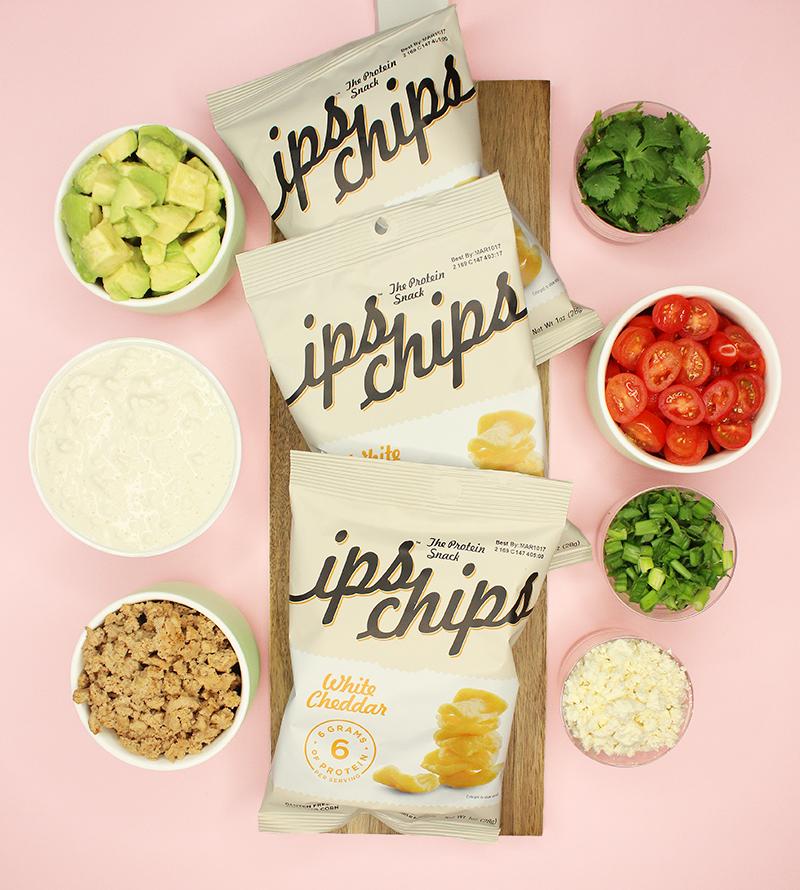 IPS egg white chips recipe.