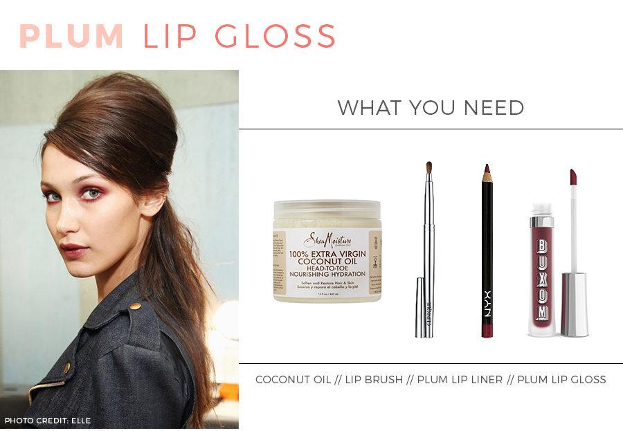 Beauty Tutorial: How to apply plump lip gloss.