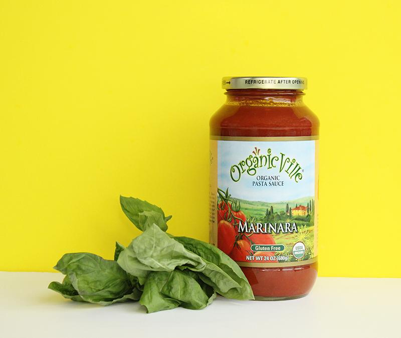 OrganicVille Marinara sauce.
