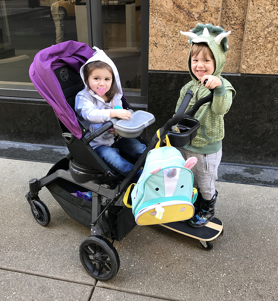 Zelda and Luca head to the Swissotel in Chicago.