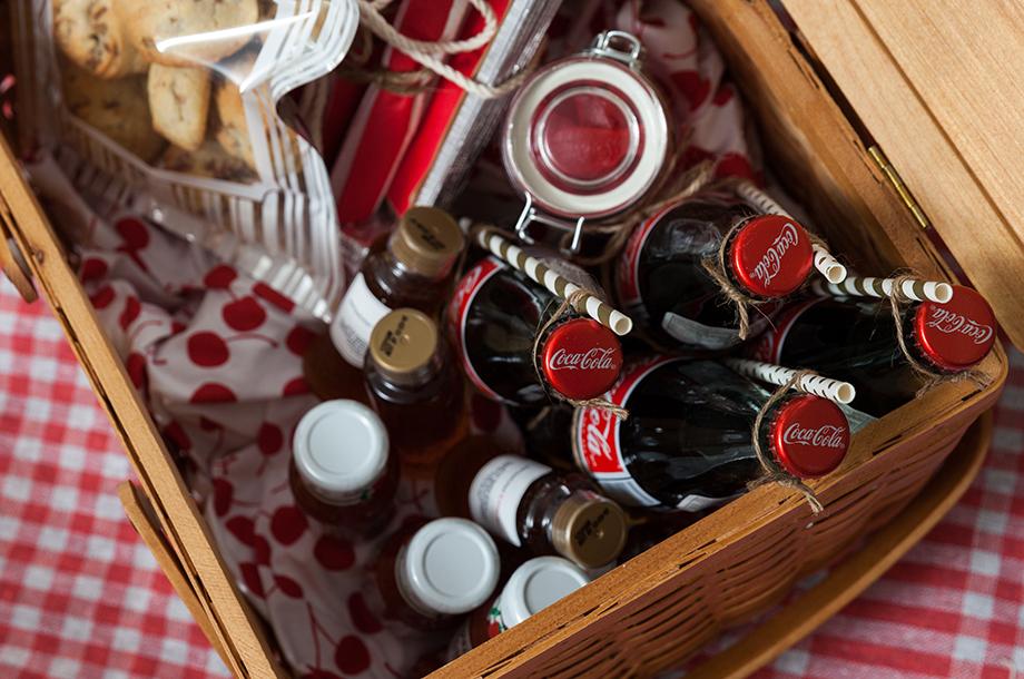 Coca Cola at the Swissotel Picnic.