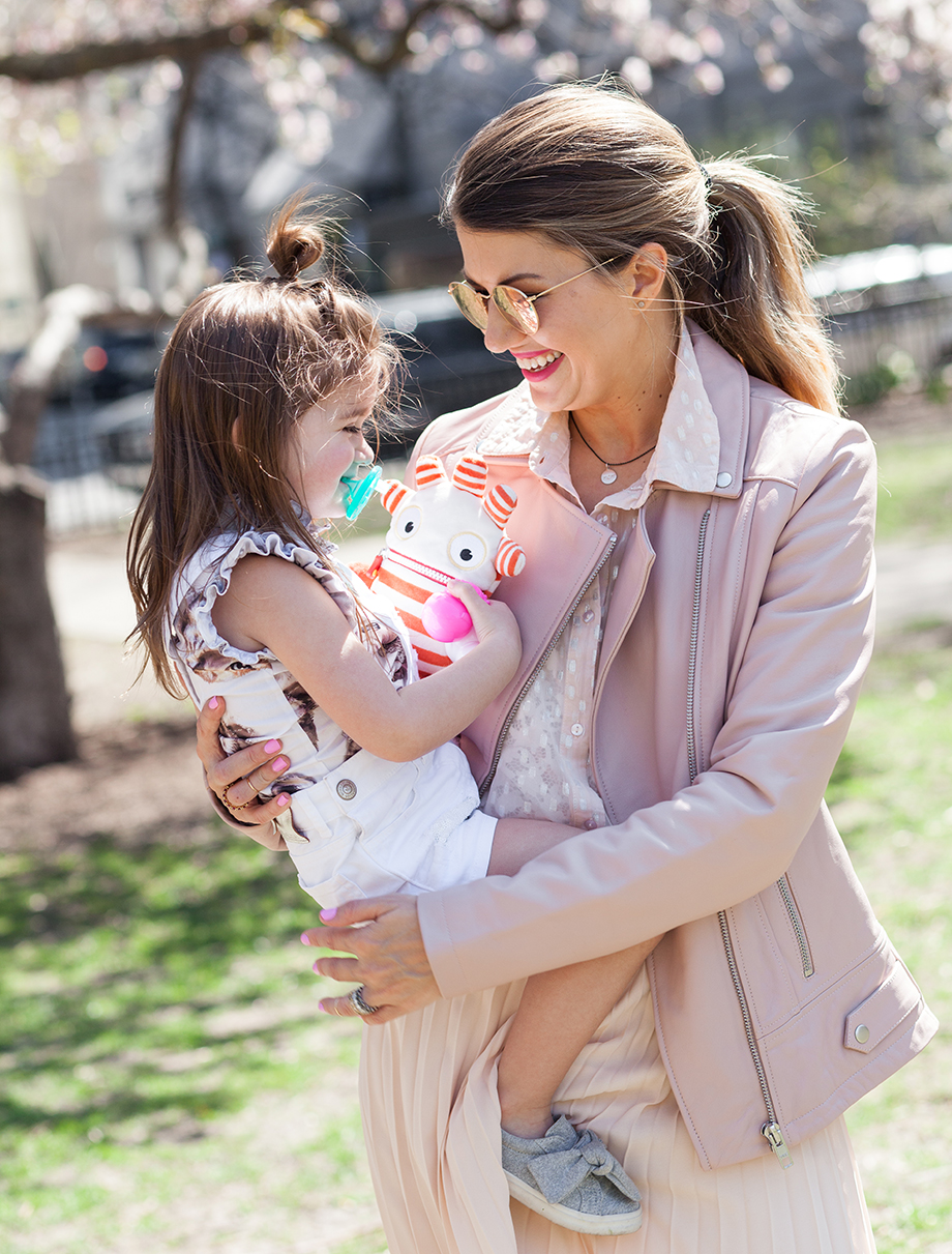 Win a Helen Ficalora Mom Necklace for Mother's Day.