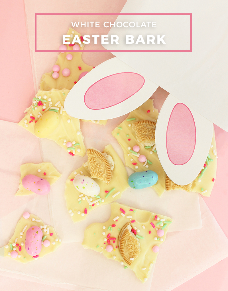 White Chocolate Easter Bark recipe.