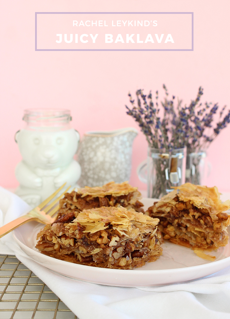 An recipe for Greek baklava.